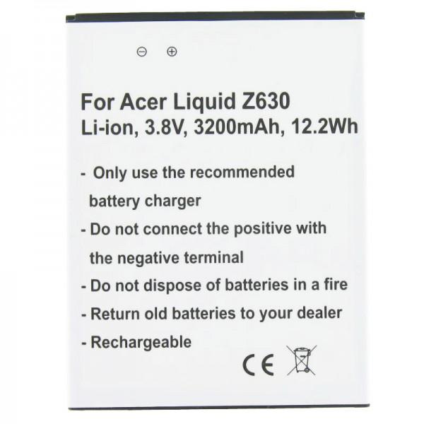 Akku passend für den Acer Liquid Z630 Akku BAT-T11, KT.0010S.018