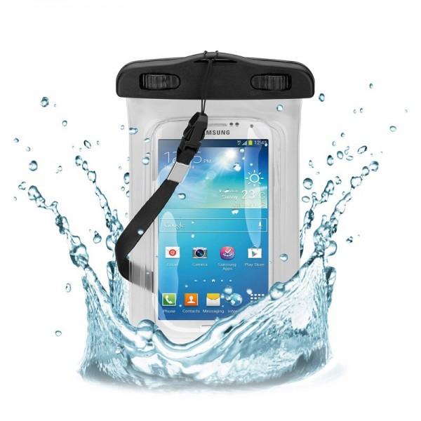 """Beachbag für Smartphones bis 5,5"""" der wasser- und sanddichte Aufbewahrungsbeutel"""