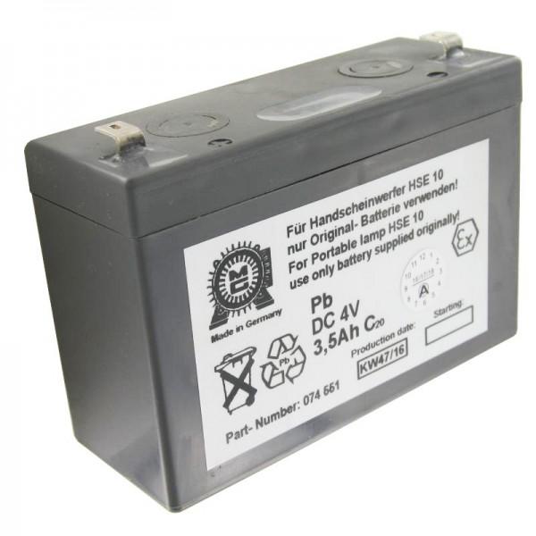 Eisemann HSE10 Akku original für die Eisemann Handlampe (ohne EX-Schutz)