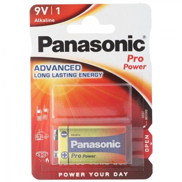Panasonic Pro Power 9-Volt 6LR61 1er Blister E-Block