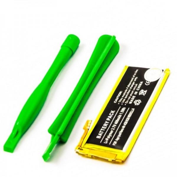 Akku passend für den Apple Akku iPod Nano 4th 4GB, 8GB, MB903LL/A, ohne Einbauwerkzeug