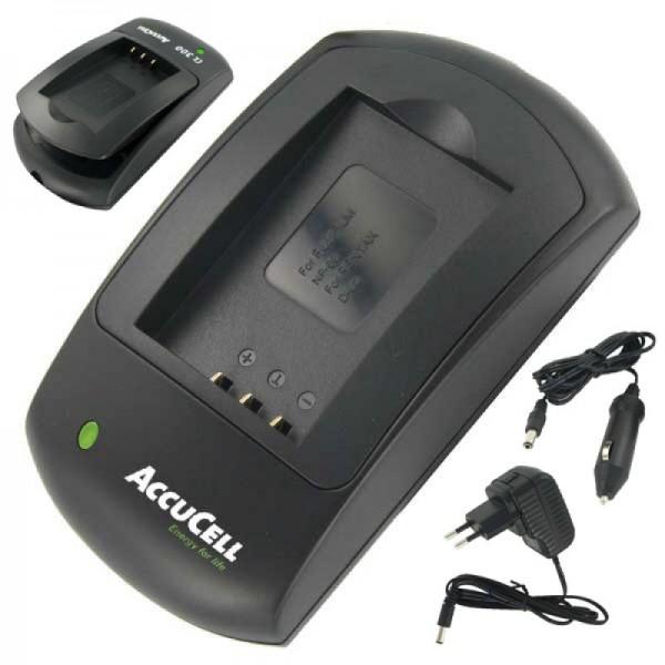 AccuCell Schnell-Ladegerät passend für Rollei XS-10 in Touch Akku