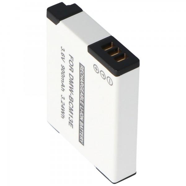 DMW-BCM13 Qualitäts-Akku von AccuCell passend für Panasonic DMW-BCM13E Akku 3,7V, Ladeschlussspannung max. 4,2 Volt
