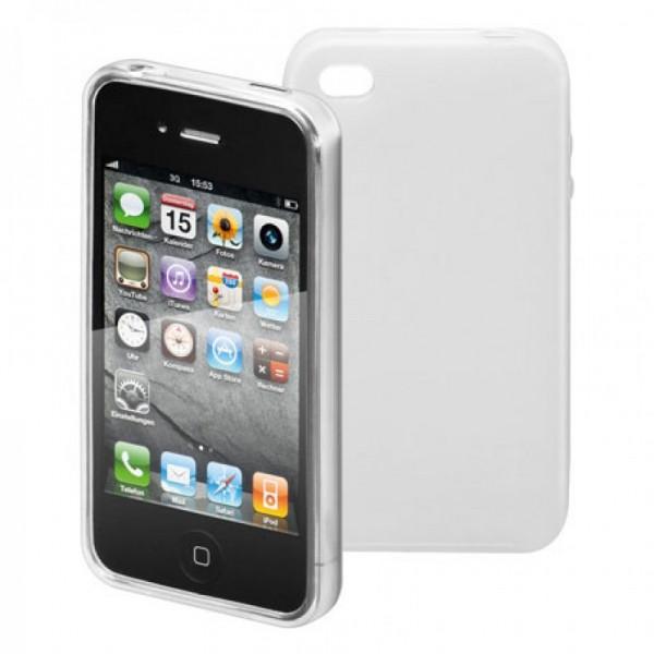 Silikon Tasche weiß für iPhone 4, Case passend für iPhone4