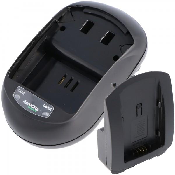 AccuCell Schnell-Ladegerät passend für Hitachi DZ-BP21SJ