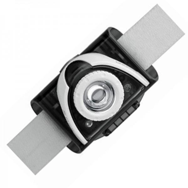 LED Lenser SEO 5 LED Stirnlampe Grau inklusive Batterien
