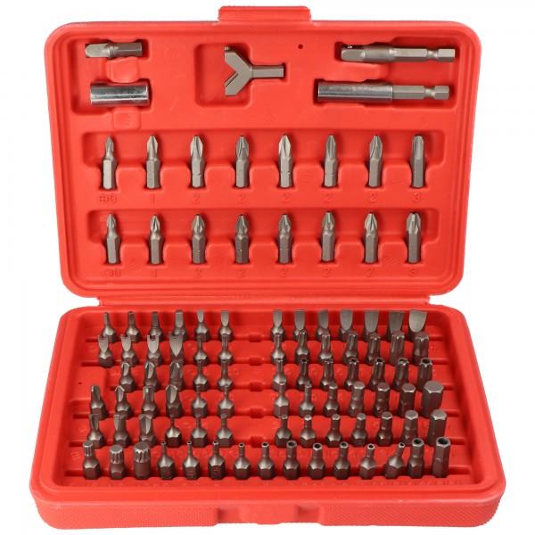 Bitsatz 100-teilig aus hochwertigem Werkzeugstahl