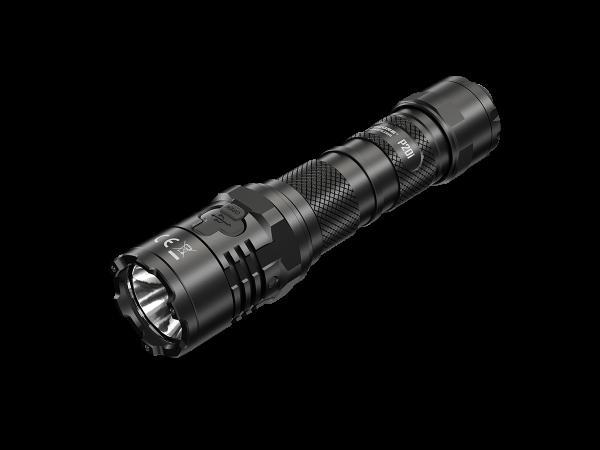 Nitecore P20i LED-Taschenlampe, 1800 Lumen, taktische Taschenlampe, STROBE READY Button, USB-C Ladeanschluss, 21700 Li-Ion Akku Typ NL2140i 4000mAh