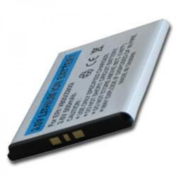 AccuCell Akku passend für Sony Ericsson W300i, 500mAh