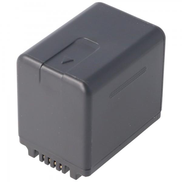 Akku nur passend für den Panasonic HC-V110, HC-V130, HC-V710 Akku VW-VBT380, 3880mAh