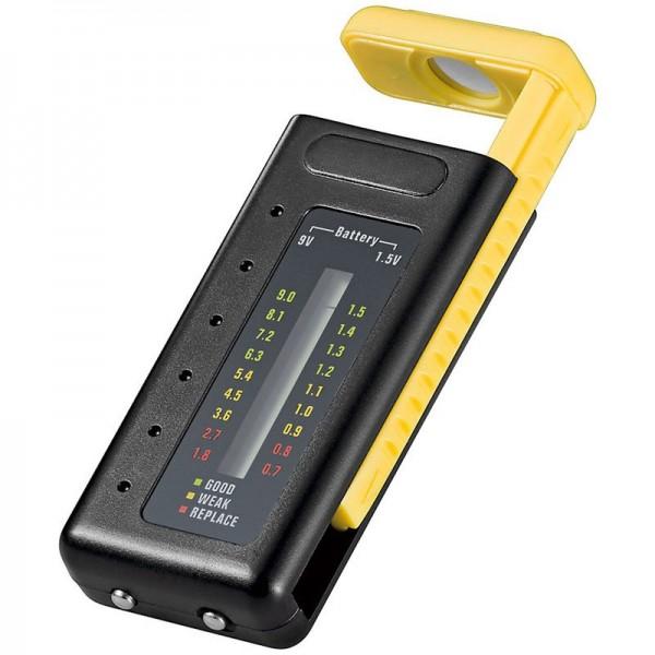 Universal Akku- und Batterie Tester mit LED Anzeige