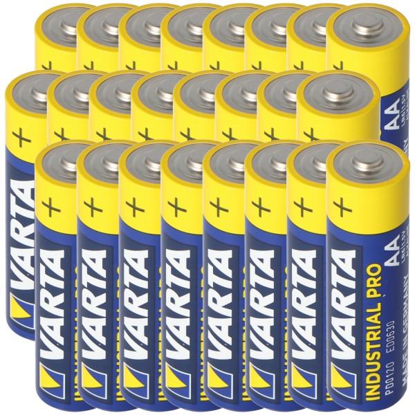 Varta AA Mignon Batterie Industrial inkl. kostenloser Aufbewahrungsbox