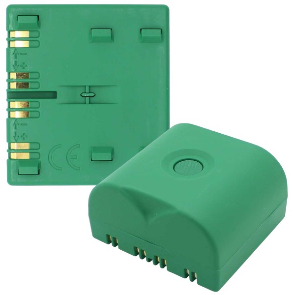 BATLI23 Lithium Batterie passend für Daitem Geräte 2x 3,6 Volt 18 Ah 1 Stück