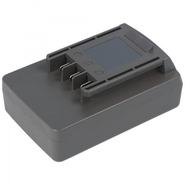 Akku passend für Wolf Garten Li-Ion Power-Pack 5 Akku 41A20--L650 mit 2000mAh