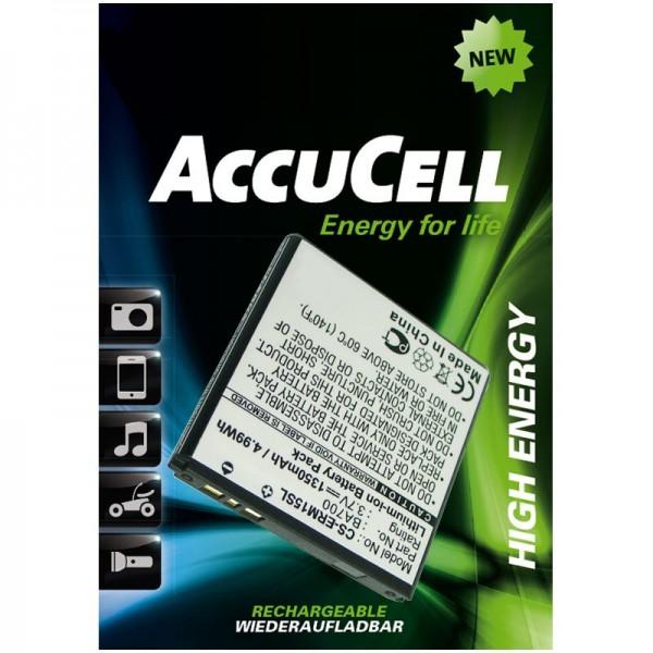 AccuCell Akku passend für Xperia Pro