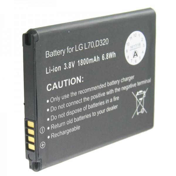 AccuCell Akku passend für den LG D320, L70 Akku BL-52UH