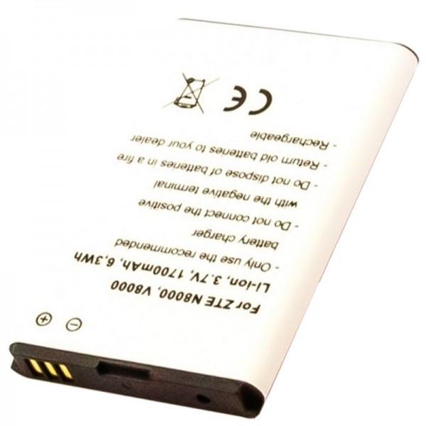 Akku passend für den ZTE Li3719T42P3h644161 Akku ZTE MF80, Nova 4.0, N8000, V8000