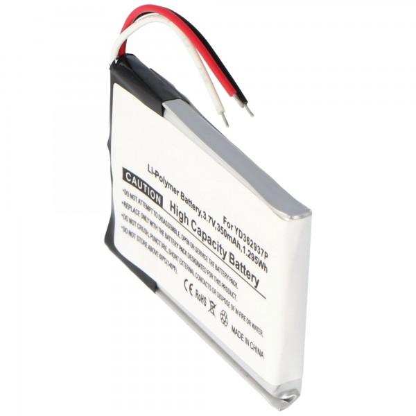 Akku YD362937P für GoPro ARMTE-001 GoPro Wi-Fi Remote (kein original)