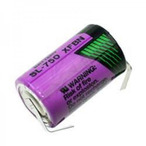 Sonnenschein Inorganic Lithium Battery SL-750/T mit Lötfahnen