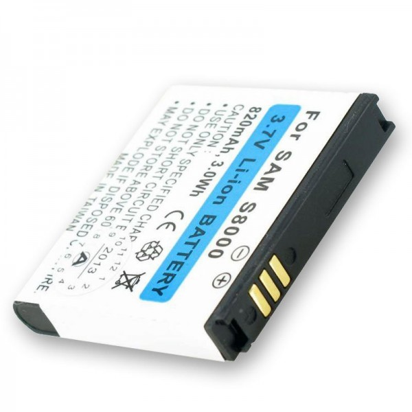 AccuCell Akku passend für Samsung Jet S8000, EB664239HUC
