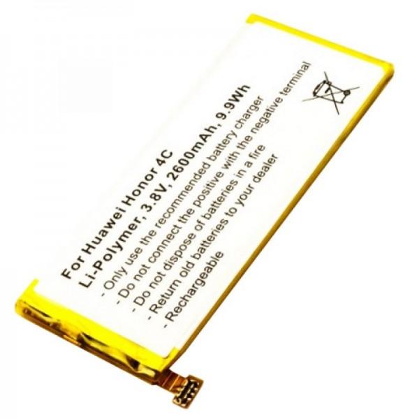 Huawei Honor 4C Qualitäts-Akku Typ HB444199EBC+ von AccuCell