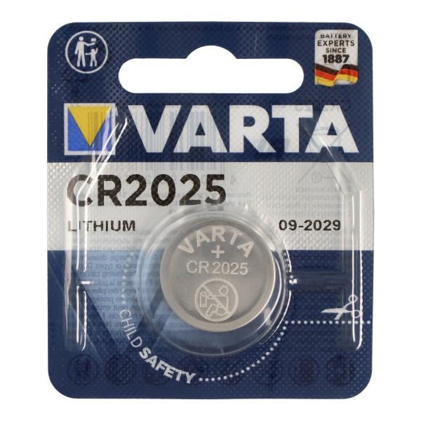 Varta CR2025 Lithium Batterie
