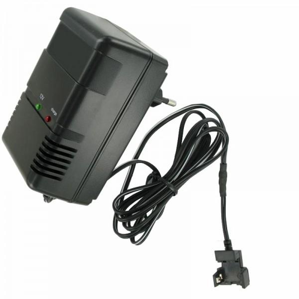 Schnellladegerät mit Clip Kontakt passend für den Panasonic LC-S122AG Akku MP1220