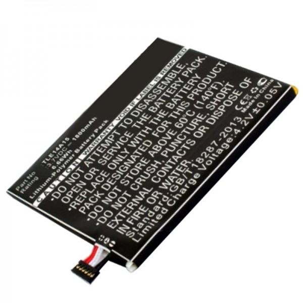 Akku passend für den Wiko Darkmoon BLU L150u, Life Play S Akku TLE14A15P104INTRNL, P104-J430, TLE14A07
