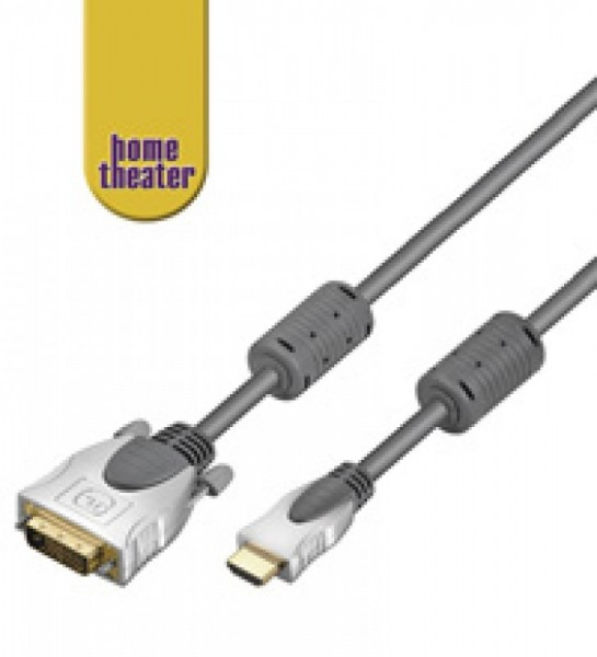 HDMI Home-Theater HDMI -> DVI-D Stecker 7,5 Meter