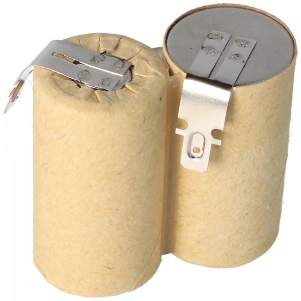 AccuCell Akku passend für Hand-Staubsauger 2,4 Volt