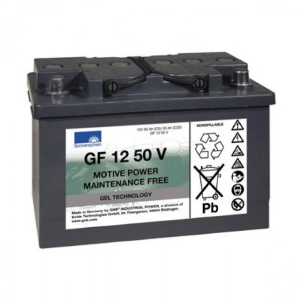 Exide Dryfit Traction Block GF 12 050 V Blei Akku mit A-Pol 12V, 50000mAh