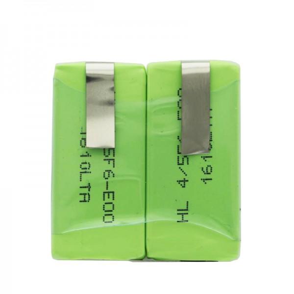 Akku passend für Sanyo 2 x HF-C1U Akku NiMH mit LF-90°Crad