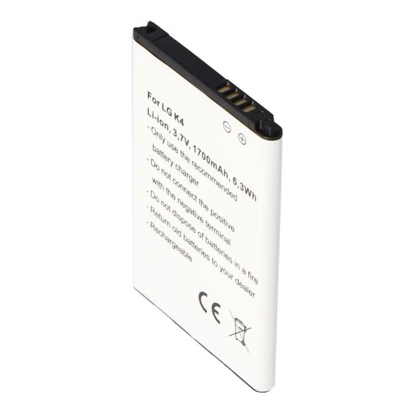 Akku passend für den LG BL-49JH Akku EAC63138801, K4. K4 Dual SIM LTE