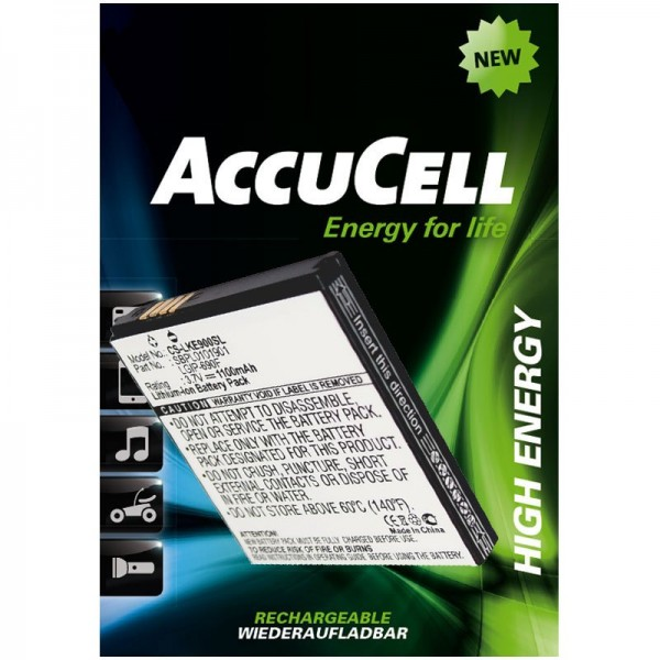 AccuCell Akku passend für LG Optimus 7, E900, C900, LGIP-690F