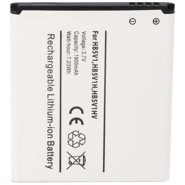 Akku passend für Huawei Ascend T8833, U8833, W1, Y300, Y360, Y500 mit 1800mAh