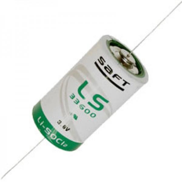 SAFT LS33600CNA Lithium Batterie 3.6V Primary LS 33600 CNA