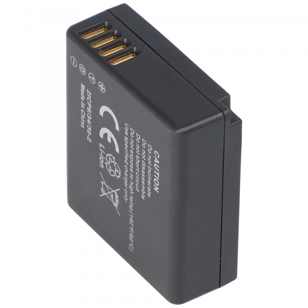 Panasonic DMW-BLG10 E Akku, kompatibler Qualitätsakku mit 770mAh, 5,7Wh