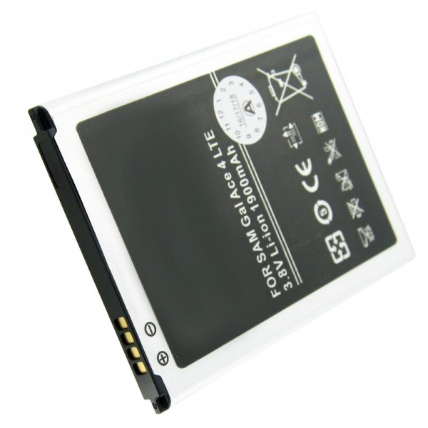 Akku passend für den Samsung EB-BG357BBE Akku Galaxy Ace 4 LTE, Samsung Galaxy Ace Style LTE mit 4 Kontakten