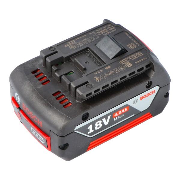 4000mAh Original Bosch GSR 18 V-LI Akku 2607336815 mit 18 Volt und 4Ah