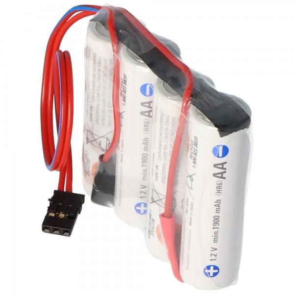 Empfänger Pack Panasonic eneloop Standard (ehem. Sanyo eneloop Standard) AA 4er Reihe 4,8/2000 Graupner