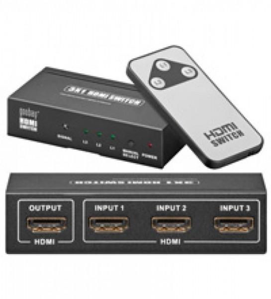 HDMI Umschaltbox mit 3x Eingang / 1x Ausgang