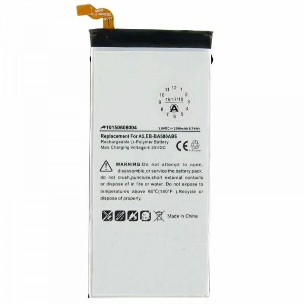 Akku passend für Samsung Galaxy A5, EB-BA500ABE 3,8 Volt 2300mAh, mit Werkzeug