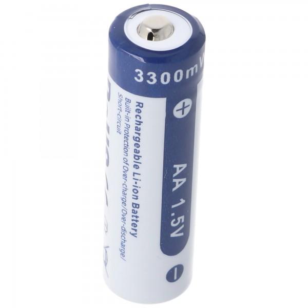 AA 1,5V 3300mWh typisch 2000mAh Lithium Ionen Akku wiederaufladbar nur mit speziellem Ladegerät