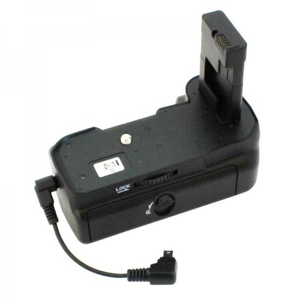Batteriegriff passend für die Nikon D3100, D3200, Betrieb mit 2 Akkus Typ EN-EL14