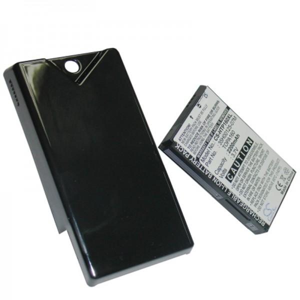 AccuCell Akku passend für HTC Touch Diamond 2 mit Zusatzdeckel