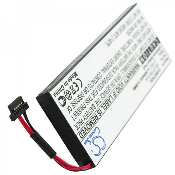 Nachbauakku passend für den Becker Akku BP-LP1100, Becker BE7928, Traffic Assist 7928, 2400mAh