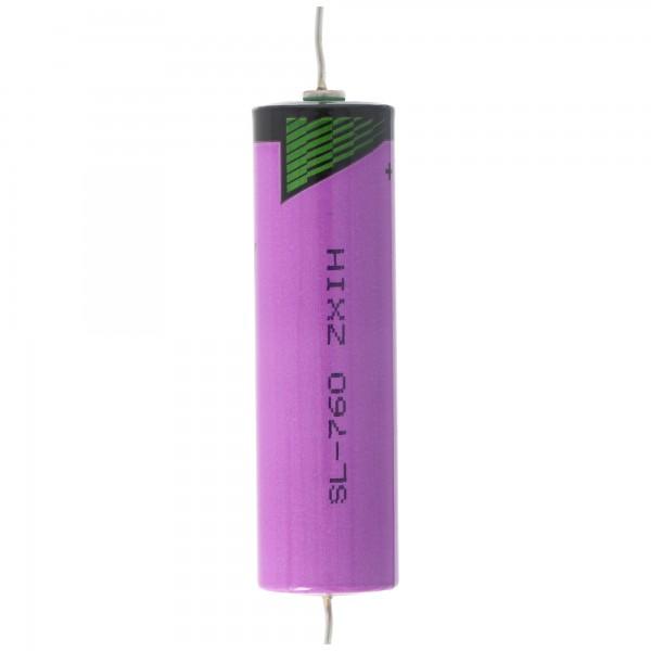 Sonnenschein Inorganic Lithium Battery SL-760/P Anschlußdrähte