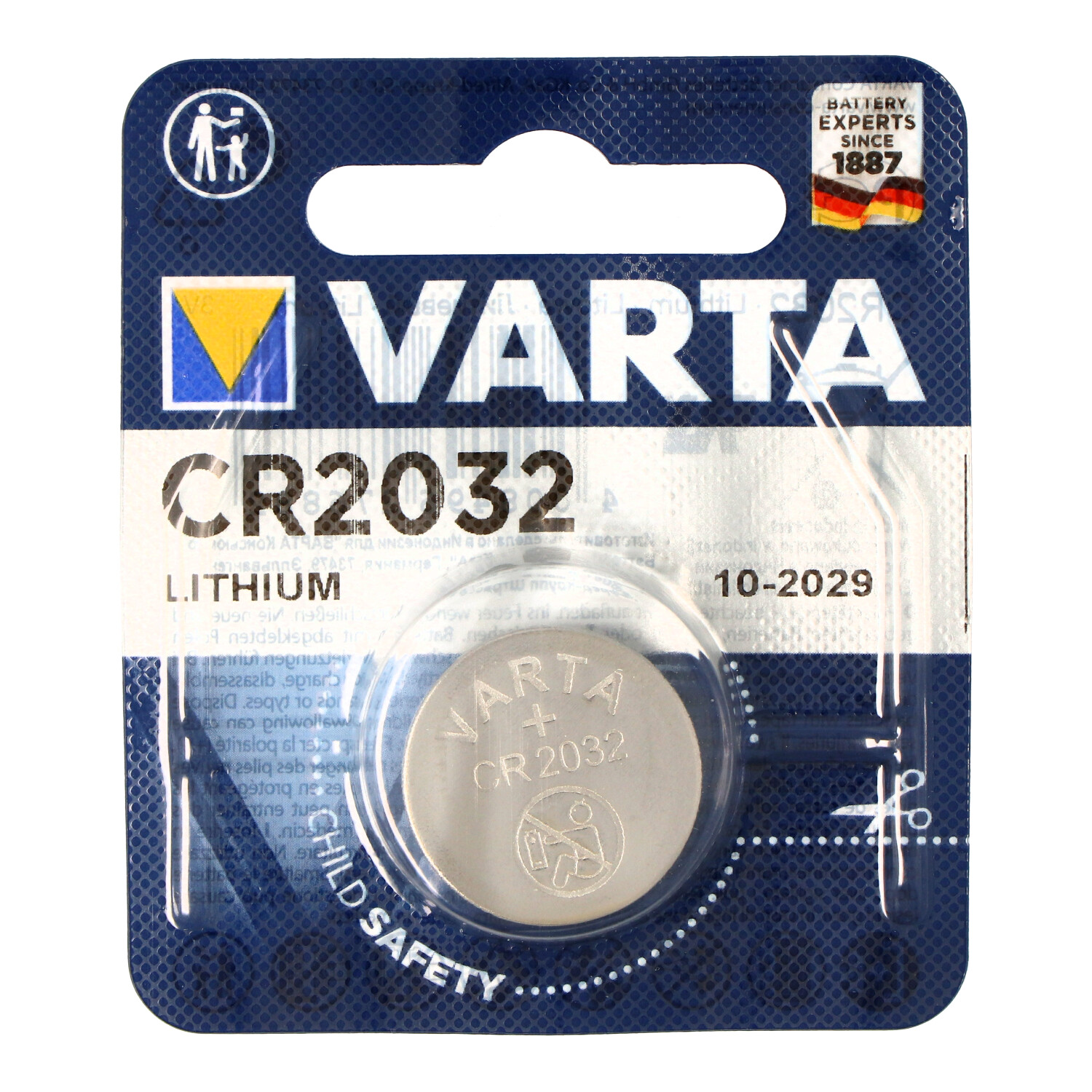 Knopfzelle Batterie CR2032 Maxell NEU 2 Stück