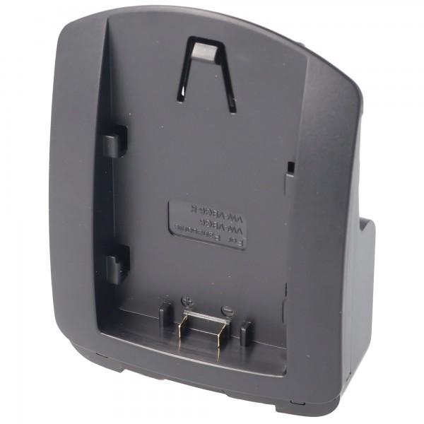 Ladeschale nur passend für Panasonic VW-VBG6, VW-VBG6-K, VW-VBG6PPK diese Ladeschale kann ohne die Basiseinheit / Ladegerät nicht verwendet werden.