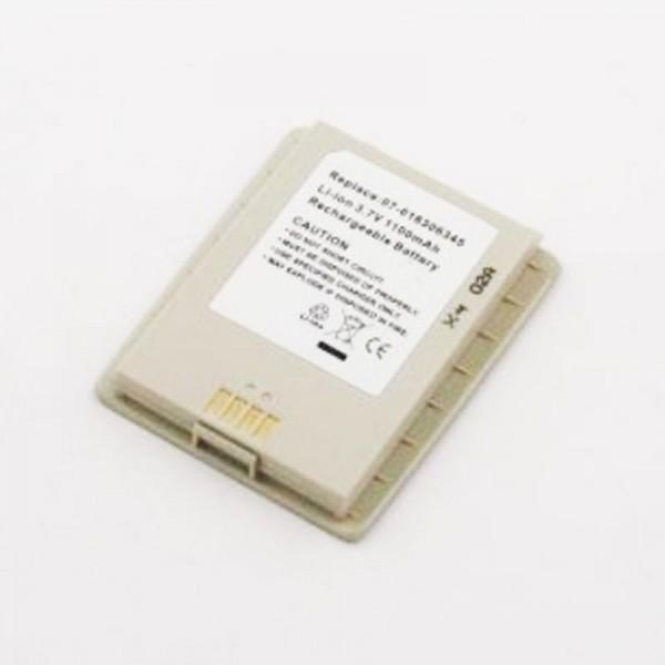 AccuCell Akku passend für Asus MyPal P505, 07-016306345